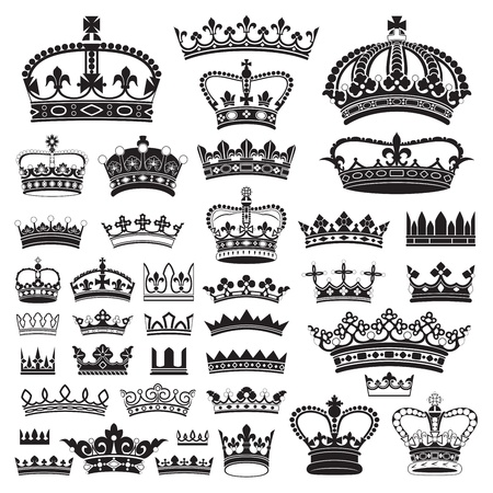 regal: CROWNS Antique and decorative