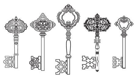 passkey: KEYS Antique Collection Set 2 Illustration
