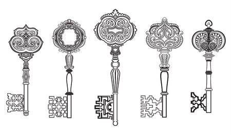 KEYS Antique Collection Set 1 Illustration