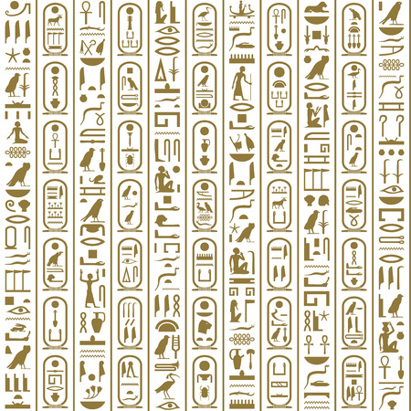 antiquities: Ancient Egyptian writing
