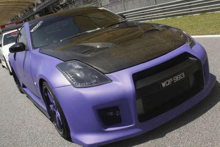 matte: mad matte purple Nissan 350