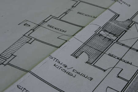A photo of a plan/blueprint Stock Photo - 209031