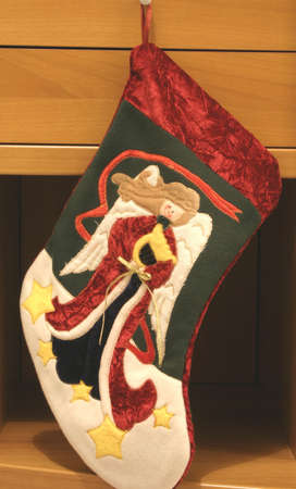 favours: A hanging Christmas Sock
