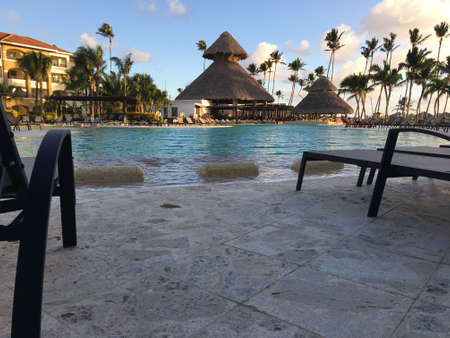 Now Larimar resort in beautiful Punta Cana, great weather at the pool side