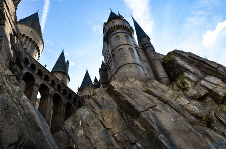 Hogwarts Castle in The Wizarding World of Harry Potter zone .