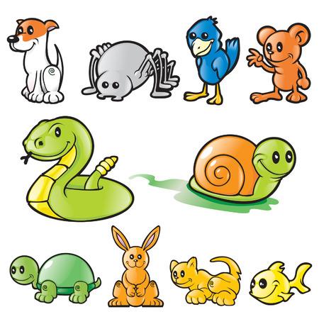 Various Vector animals