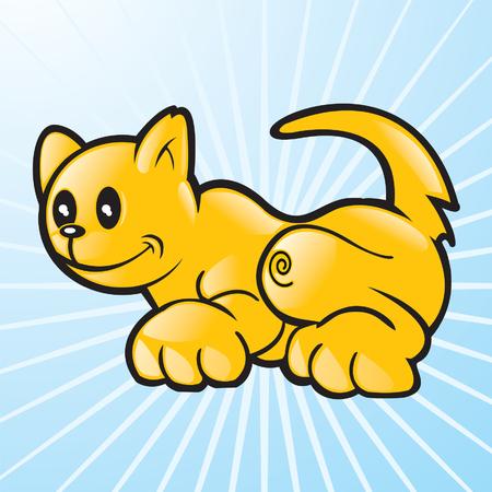 Vector cat Stock Vector - 6161652