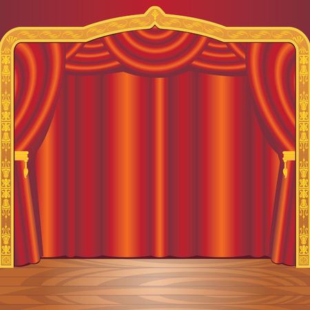 Scène de théâtre Banque d'images - 6161703