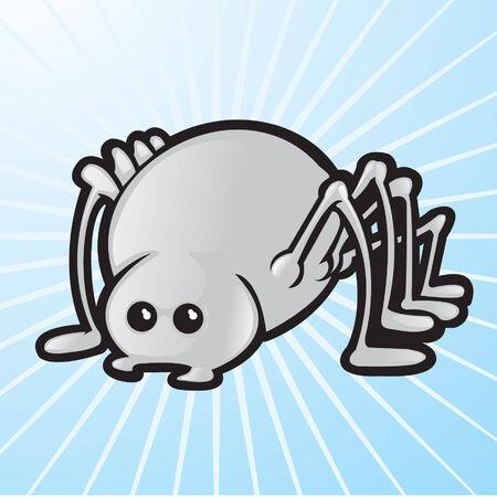 Vecteur spider  Banque d'images - 6161672