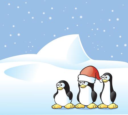 ペンギンはがき
