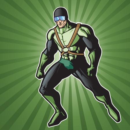 Super held met Rocket Pack klaar voor actie