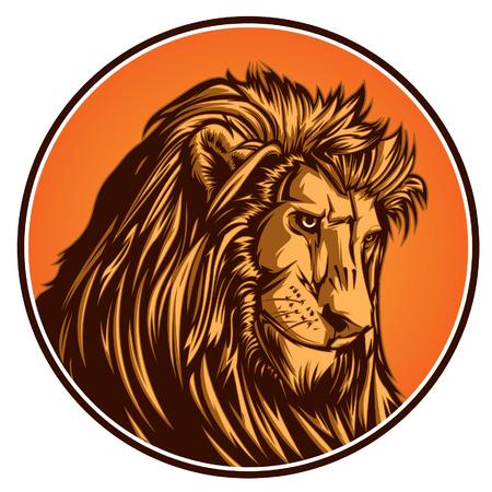 Lion 일러스트
