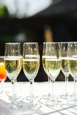 Getränke bei einer Veranstaltung hautnah