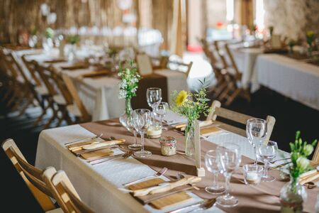 Beautiful wedding location Stock Photo