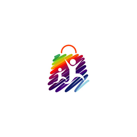 shoppingbag: Shopping bag kids. High Quality design for your business.