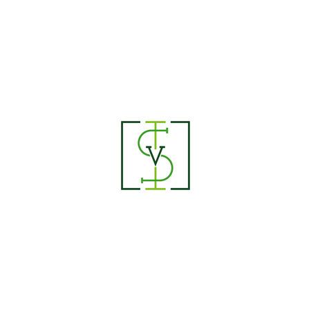 Initials I S V. High quality design for your business Ilustração