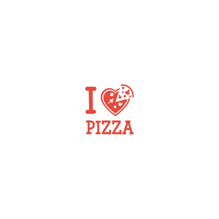 I love Pizza. Ilustrace
