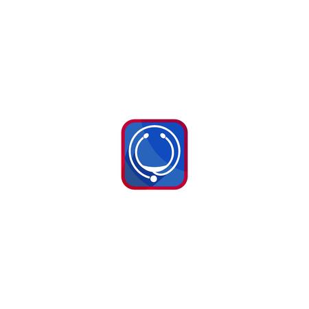 Stethoscope icon Ilustração