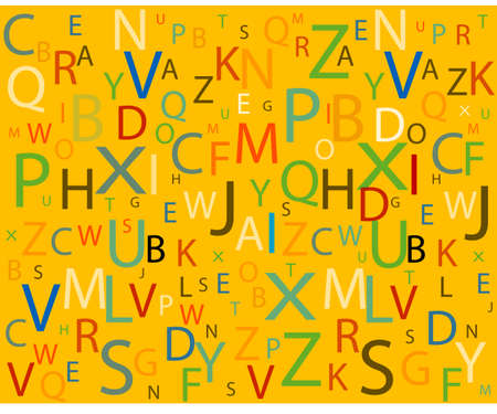Alphabet Stock Vector - 6345207