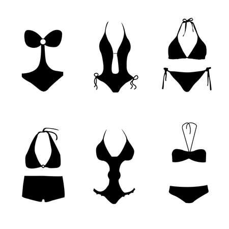badpak: bikini, pak, duik pak zwemmen
