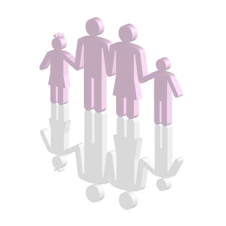 biography: Family Illustration