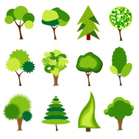tree icon: tree icons