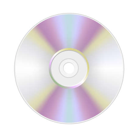 disk , dvd , cd , isolated Illustration