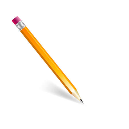 office supplies: Pencil Illustration