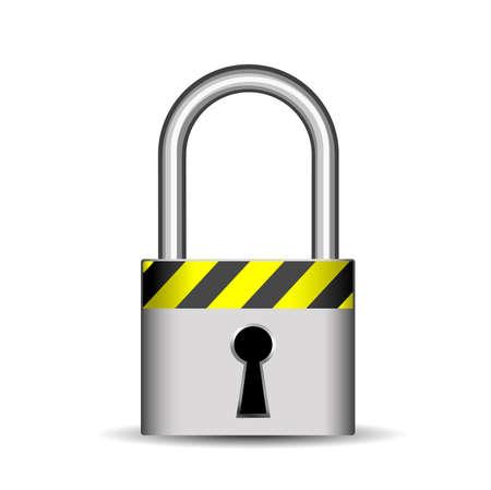 lock icon Stock Vector - 8054356