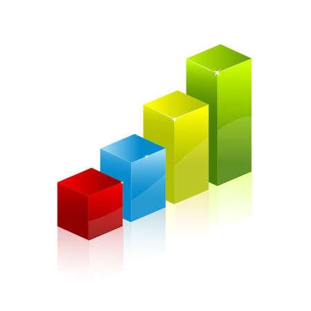 grafico vendite: diagramma grafico grafico Vettoriali