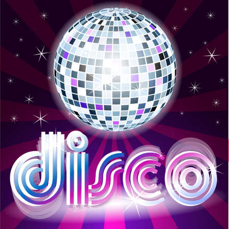disco Stock Vector - 8054376