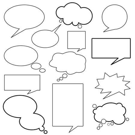 talk balloon: dialog, balloons