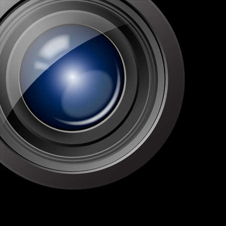 action movie: Camera lens