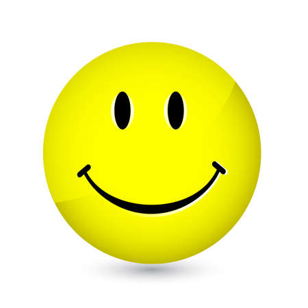faces happy to sad: Happy smiley Illustration