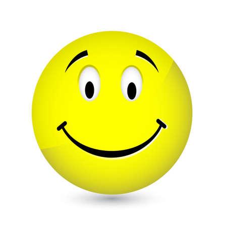 ojos tristes: Smiley feliz