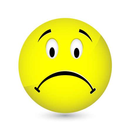 faces happy to sad: Smiley