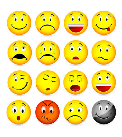 annoyed: smileys Illustration