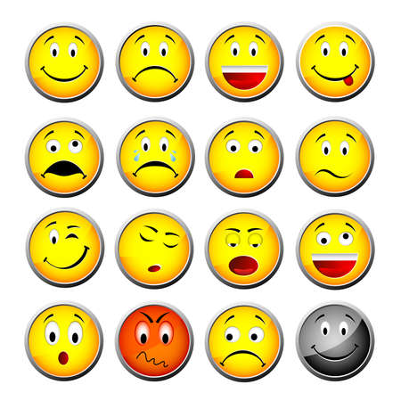 sentimientos y emociones: emoticonos