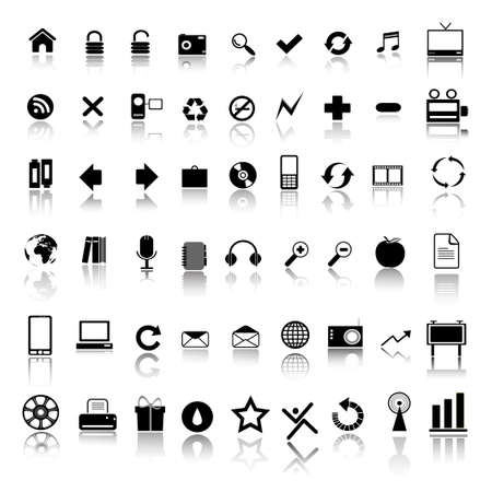 web design icon: iconos de Web  Vectores