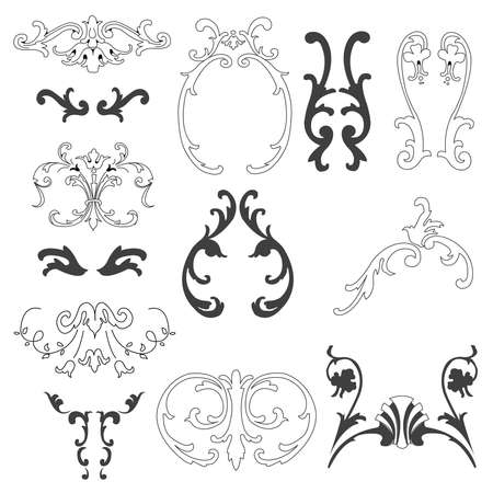 decorative design elements Stock Vector - 8059367