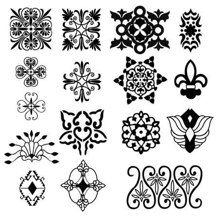 decorative design elements Stock Vector - 8059364