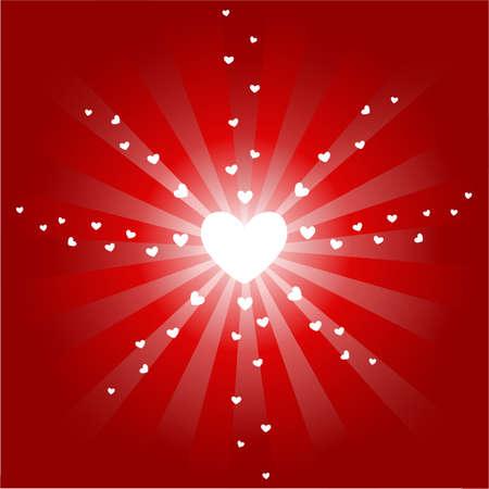 love, heart icons bakground Stock Vector - 8059351