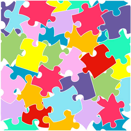 complexity: Puzzle,jigsaw Illustration