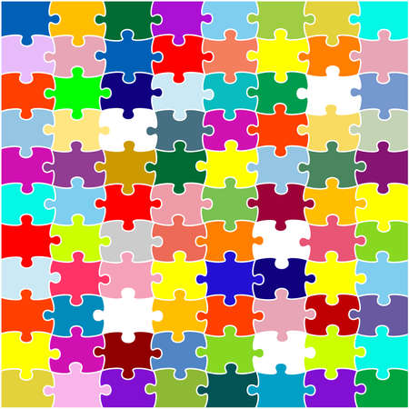 complicated: Puzzle,jigsaw Illustration