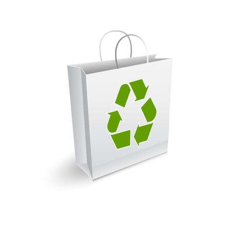 conciencia moral: Bolsa de reciclaje