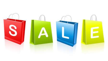 Sale bags Stock Vector - 6708345