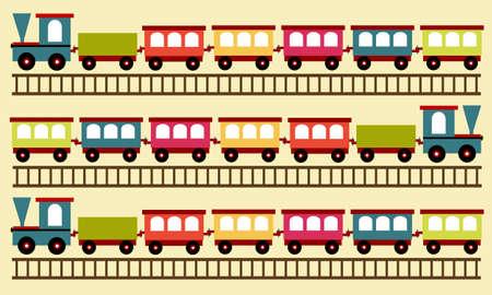 locomotion: train pattern