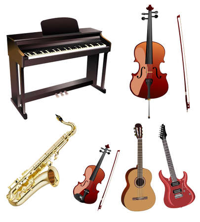 music instruments Stock Vector - 6708407