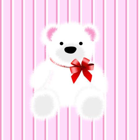 noun: teddy bear Illustration