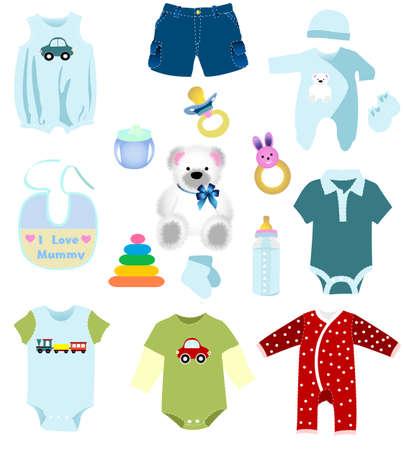 animal feed: Baby boy elements